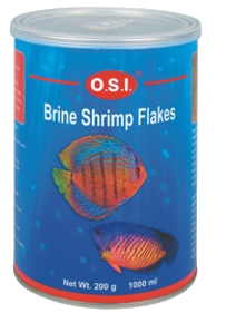 OSI brine shrimp flakes 200g