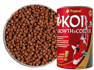 Tropical KOI GROWTH COLOUR PELLET